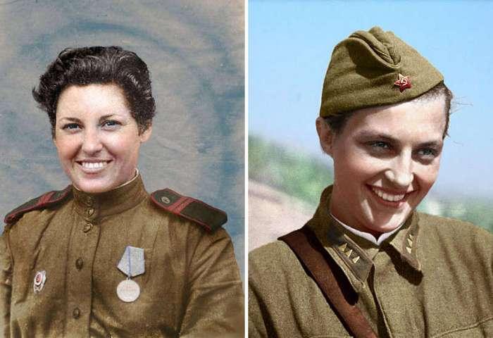 Женщины снайперы - гроза немецких солдат