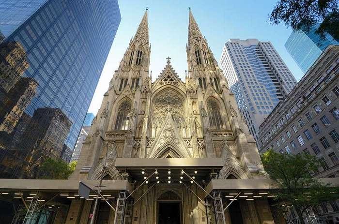 Собор Святого Патрика в Нью-Йорке