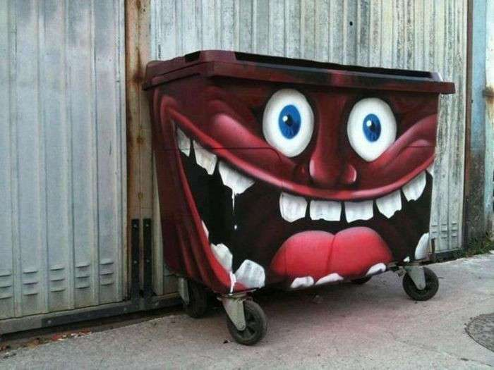 Уличное искусство. Простое и интересное