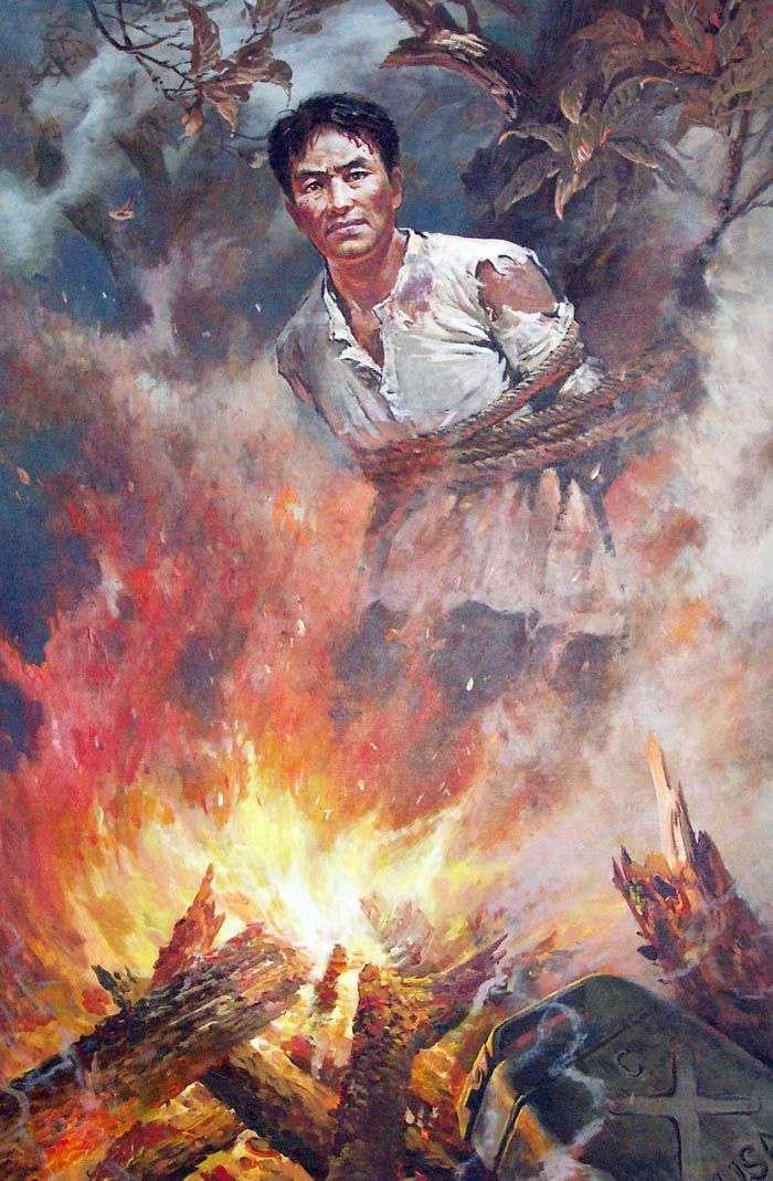 Батальная живопись в КНДР. Врагу не сдаётся наш гордый Ким Им