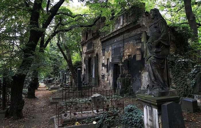Мистические истории. Старинное кладбище