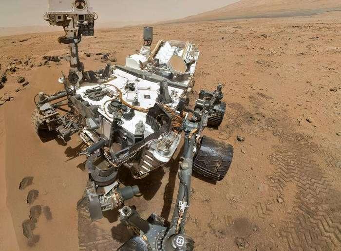 Загадка - есть ли жизнь на Марсе?