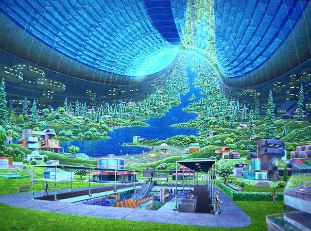 Немного фантастического будущего в ленту: 10 перспективных космических колоний