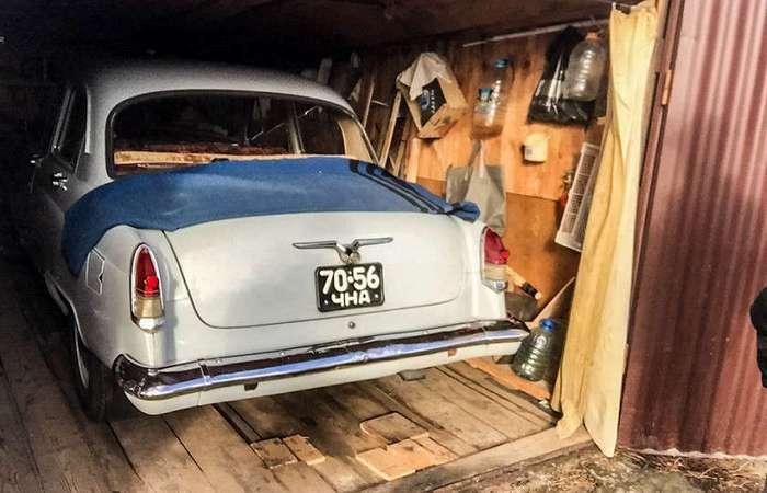 -Волга- на миллион: уникальная находка в старом гараже