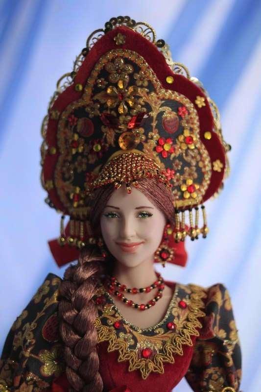 Наш ответ Барби! Куклы ручной работы Ларисы Исаевой.