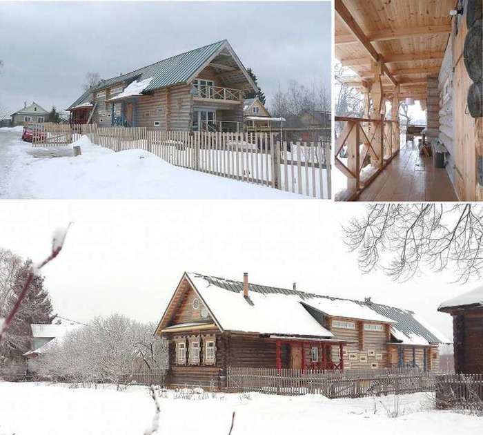 Восстановление и реконструкция дома в Тверской области