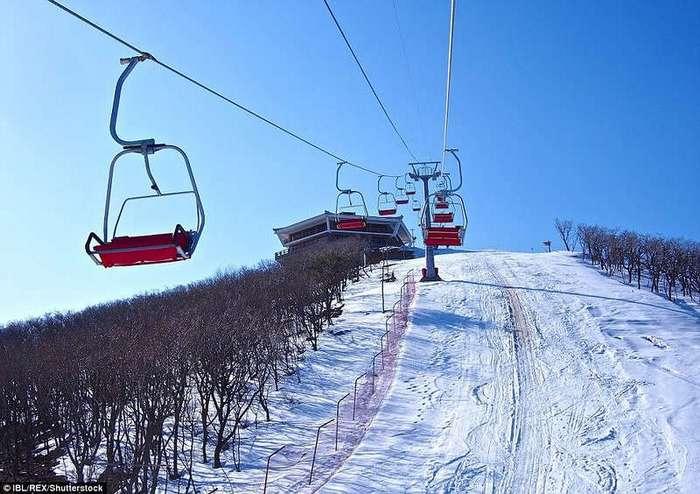 Первый горнолыжный курорт Северной Кореи простаивает из-за отсутствия туристов