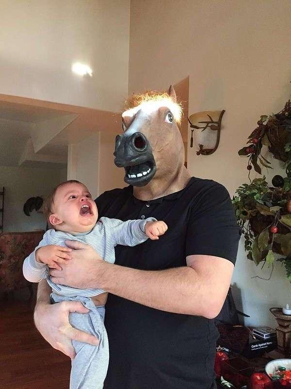 Тот случай, когда у родителей есть чувство юмора