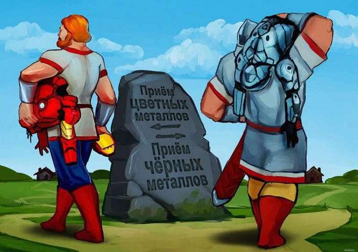 Наши герои против западных — кто круче?