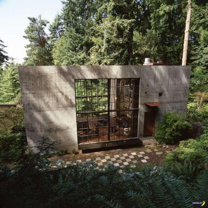 Бетонный куб для работы