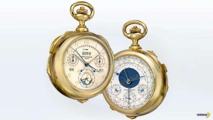 Самые сложные механические часы