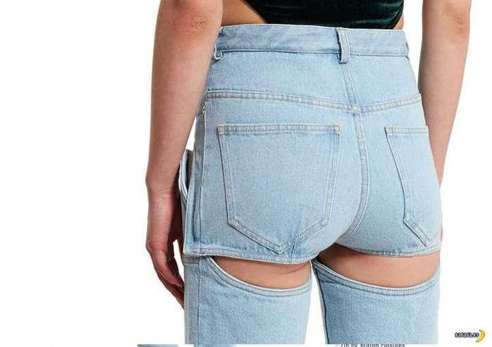 Уродливые джинсы превращаются…