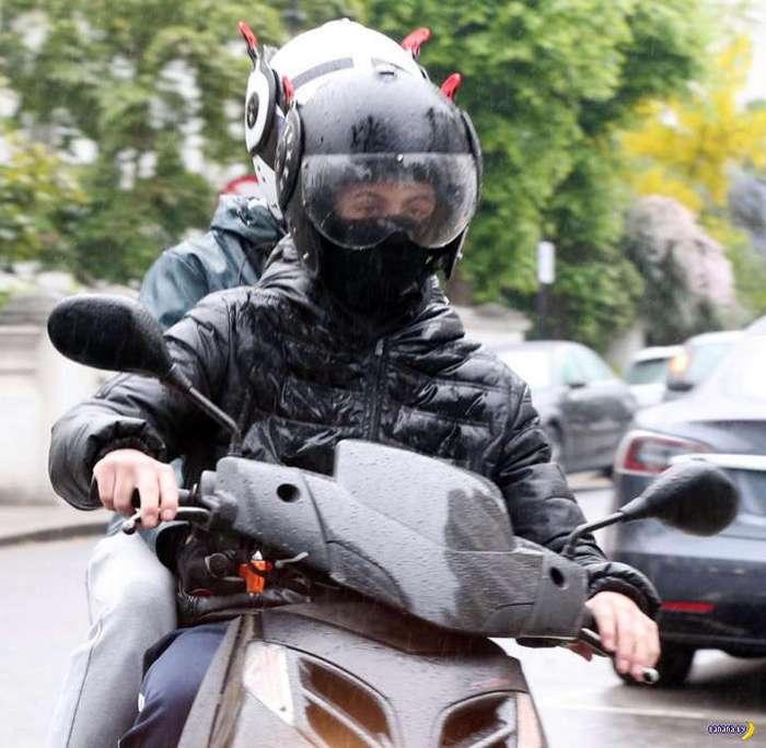 Лондонские скутеристы-налётчики