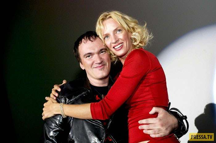 История любви Умы Турман и Квентина Тарантино (10 фото + видео)