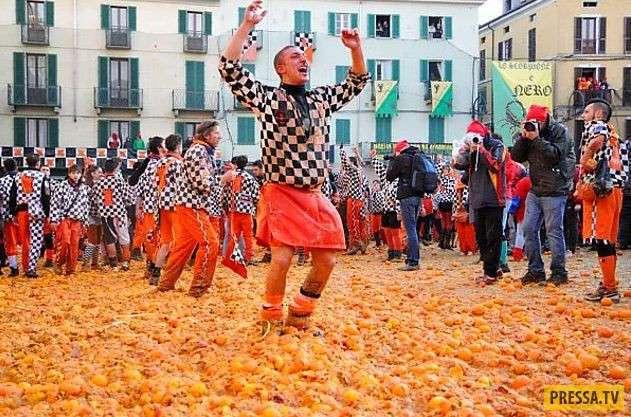 ТОП-8 фестивалей для любителей кидаться разными вещами (8 фото)