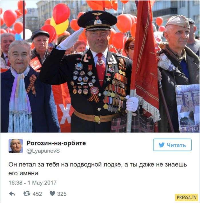 """Дядя Миша - молодой """"ветеран"""" с советскими наградами (9 фото + видео)"""