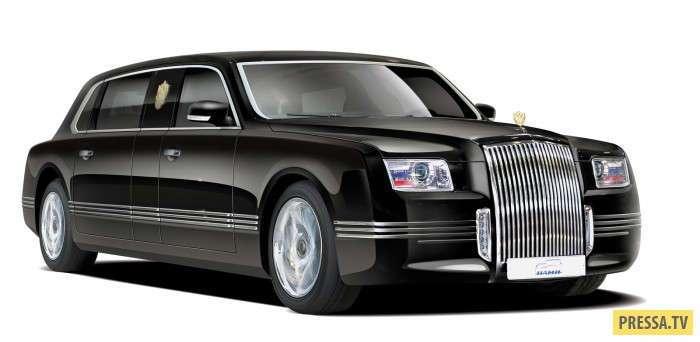 Проект -Кортеж- новый лимузин для Президента (16 фото)