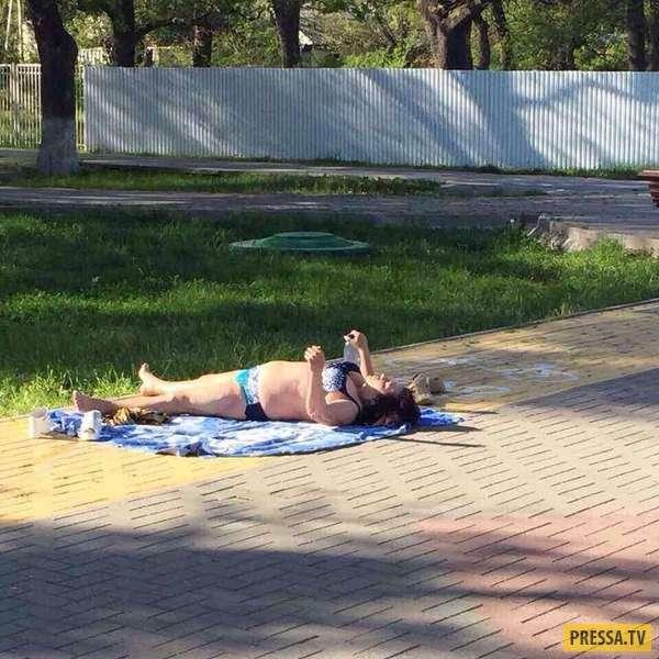 О силе загара в преддверии лета (20 фото)