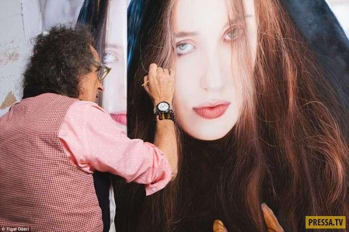 Удивительная тайна, скрытая в женских портретах (19 фото)