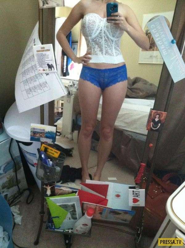 Не самые удачные фото девушек в грязных комнатах (34 фото)