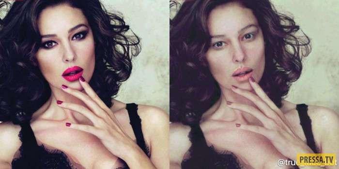 Российские и зарубежные знаменитости без макияжа (13 фото)