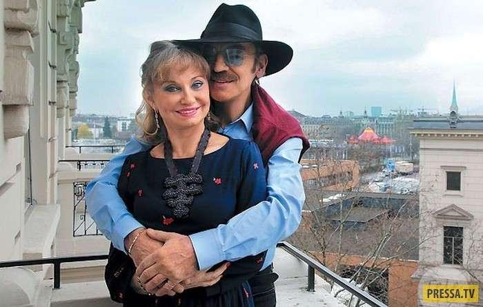 История любви Михаила Боярского и Ларисы Луппиан (13 фото + видео)