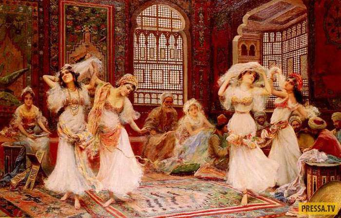 Как в былые времена готовили наложниц для гарема султана (5 фото)