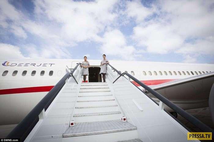 Самый роскошный частный самолёт в мире (15 фото)