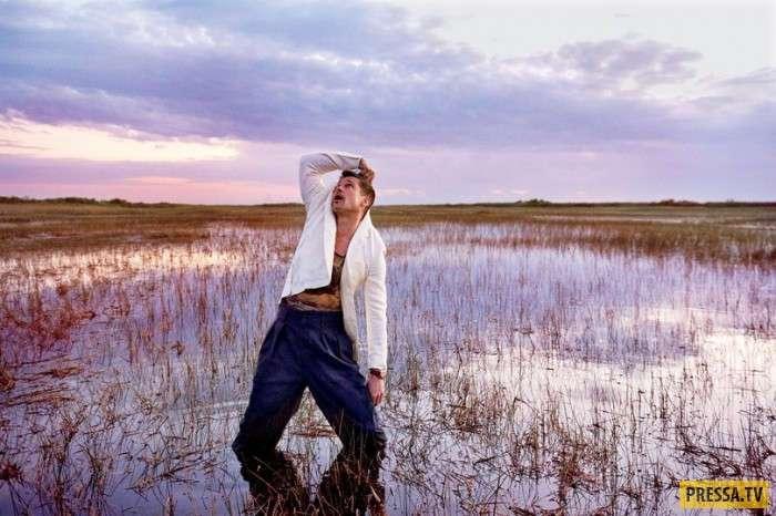 Интервью и фотосет Брэда Питта для журнала GQ (12 фото + видео)