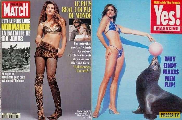 Интересные факты из жизни Синди Кроуфорд (24 фото)