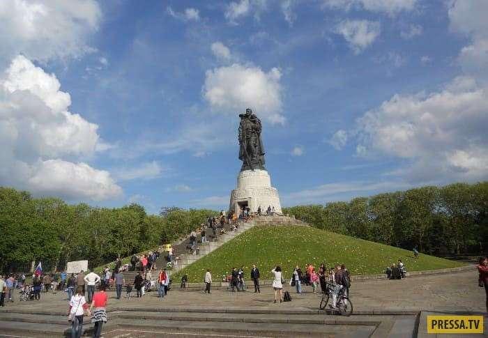 Советский солдат Николай Масалов прототип памятника Воину-освободителю в Берлине (10 фото)