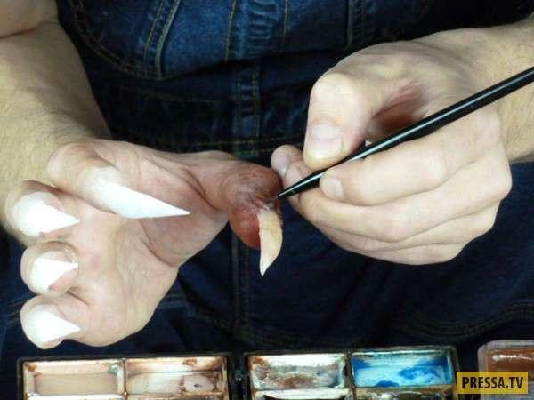 О том, как в кино делают бутафорские когти для всякой нечисти (20 фото)
