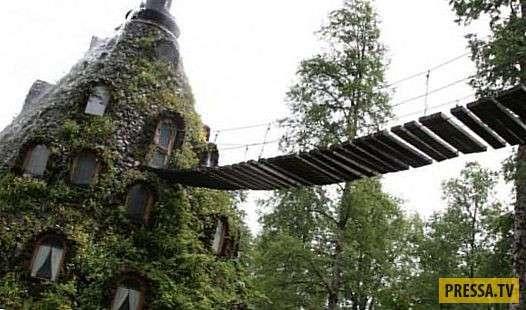 ТОП-15 самых необычных и странных отеля в мире (15 фото)