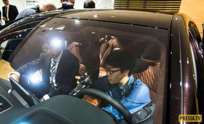 Китайские разведчики на мировых автосалонах (8 фото)