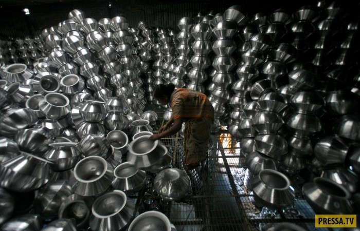 Будни жизни простых людей в Индии (27 фото)