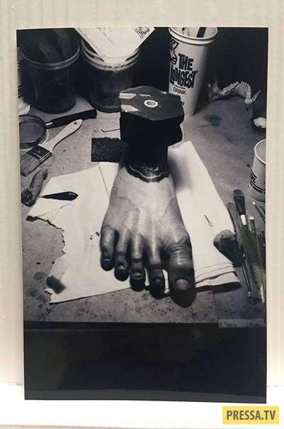 """Архивные кадры со съёмок """"Властелина колец"""" (9 фото)"""