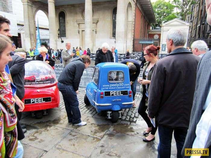 Peel P50 самый маленький в истории серийный автомобиль (29 фото+2 видео)