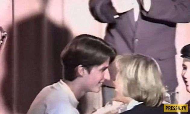 Новый президент Франции, влюбился в свою жену в школе (17 фото)
