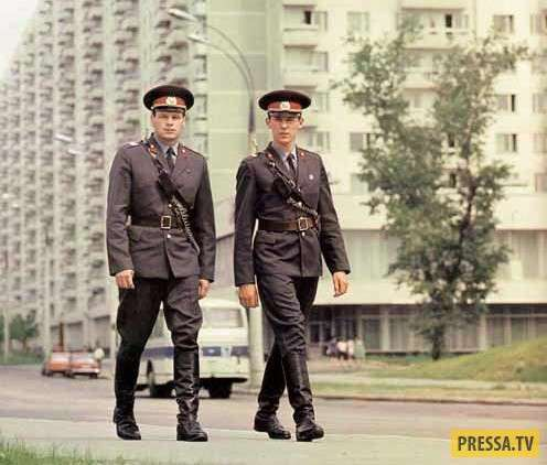 Менты советские и менты современные