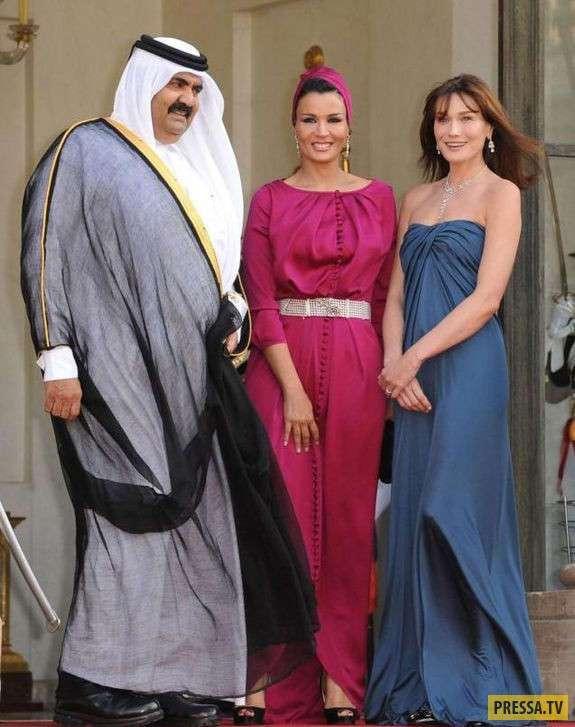 Шейха Моза бинт Насер аль-Миснед - влиятельная женщина арабского мира (21 фото)