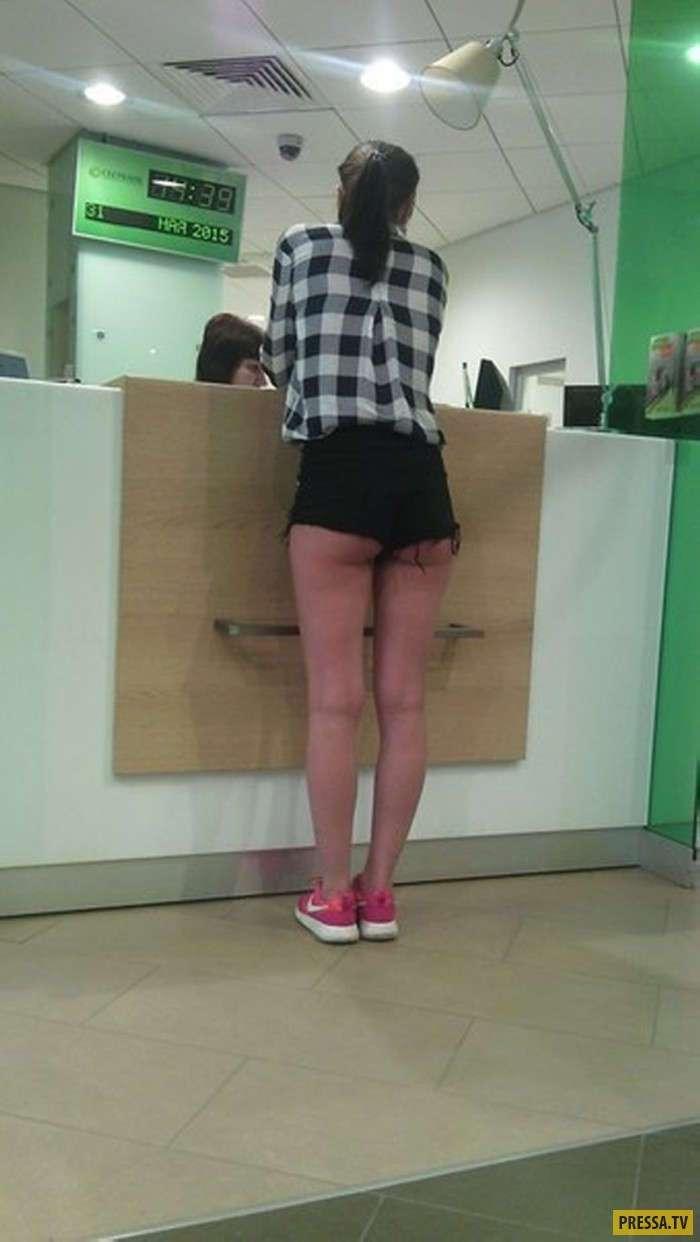 Когда шорты больше смахивают на трусы (24 фото)