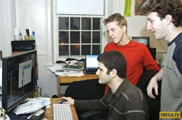 Интересное о Марке Цукерберге (16 фото)