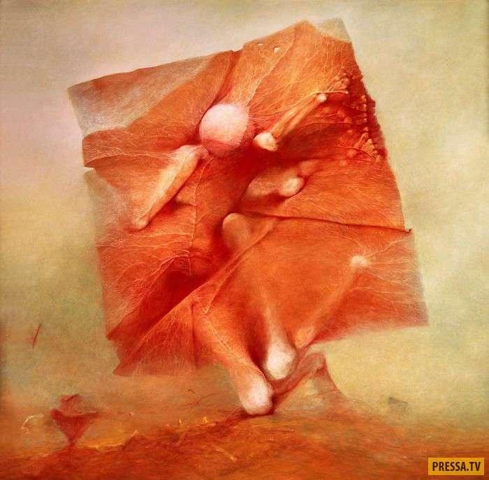 Постапокалиптические полотна популярного польского художника (18 фото)