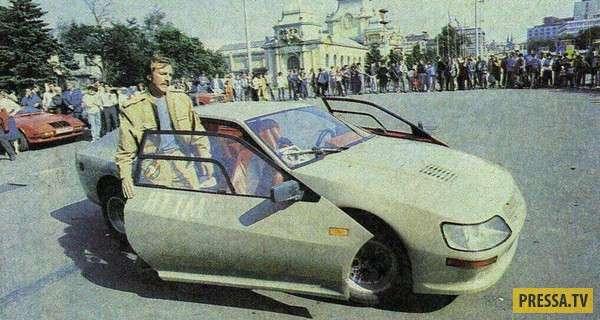 """""""Вега-1600GT"""" самодельный автомобиль родом из СССР (8 фото)"""