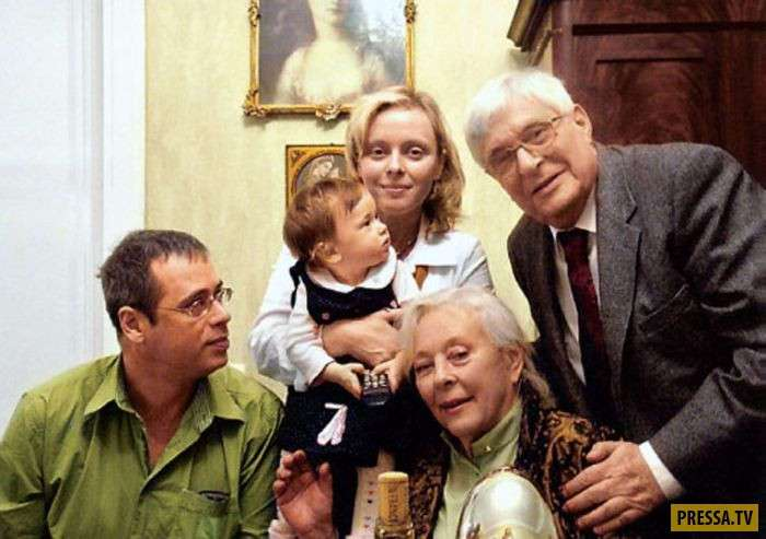 Олег Басилашвили и Галина Мшанская - больше 50 лет вместе (13 фото)