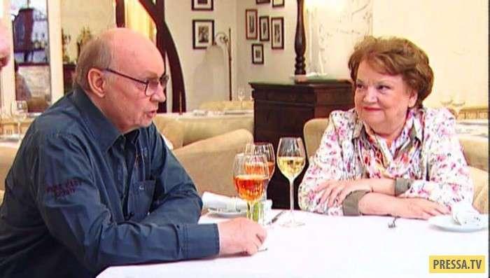 Андрей Мягков и Анастасия Вознесенская - любовь с первого взгляда и на всю жизнь (12 фото + видео)
