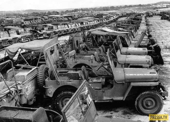 Громадные излишки военной техники после Второй мировой (15 фото)
