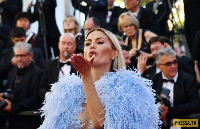 """Виктория Боня в """"голом"""" платье сразила гостей кинофестиваля в Каннах (7 фото)"""