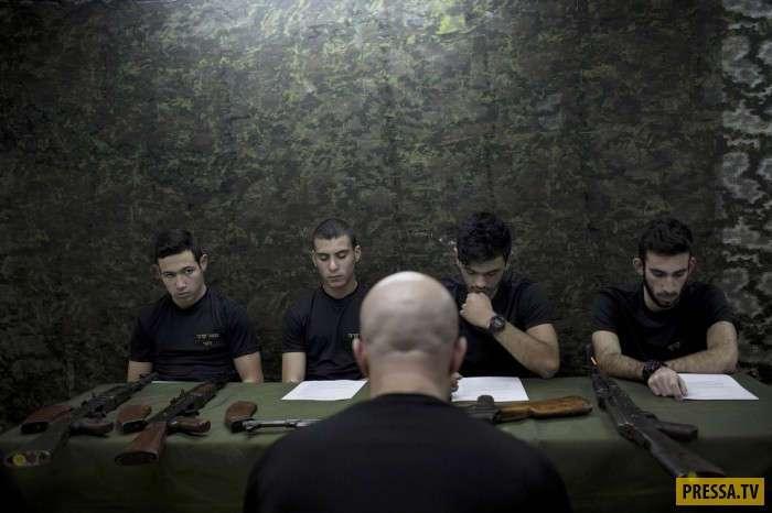 Допризывная подготовка в Израиле (15 фото)
