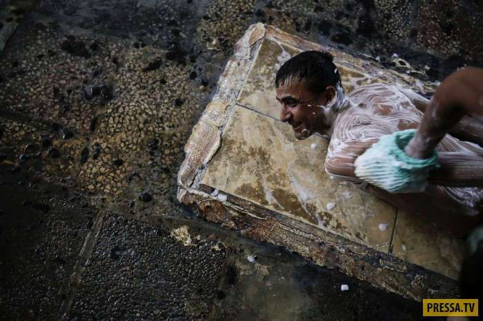 Ужасные будни жизни людей в Ираке (44 фото)